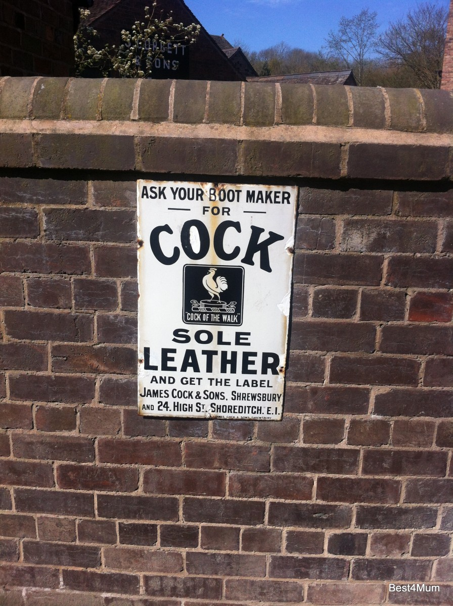 Saturday is Caption Day: Cock Sole Leather